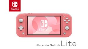 Nintendo Switch Lite - Konsole Koralle