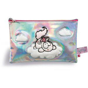 NICI - Mäppchen - Theodor auf Wolken - in silber