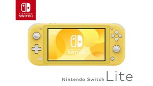 Nintendo Switch Lite - Konsole Gelb