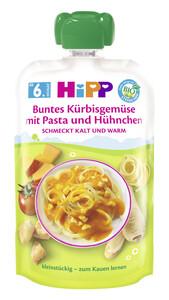 Hipp Bio Buntes Kürbisgemüse mit Pasta und Hühnchen ab 6.Monat 130 g