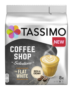 Tassimo Coffee Shop Selections Kapseln Flat White 8ST 220G
