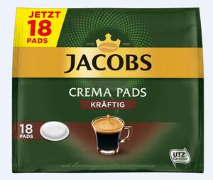 Jacobs Kaffeepads kräftig 18ST 118g