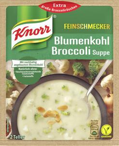 Knorr Feinschmecker Blumenkohl Broccoli Suppe 48 g