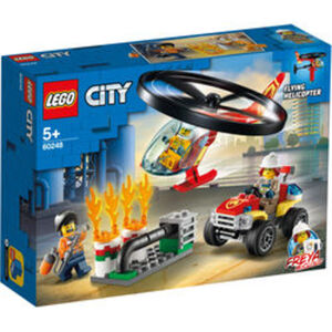 LEGO® 60248 City Einsatz mit dem Feuerwehrhubschrauber