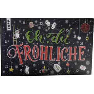 Adventskalender Handlettering: Oh du Fröhliche