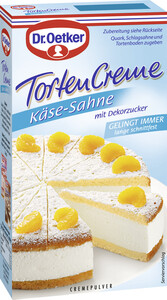 Dr.Oetker Tortencremepulver Käse-Sahne 150 g