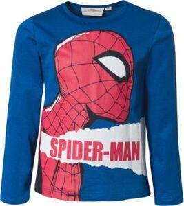 Spider-Man Langarmshirt , Organic Cotton blau Gr. 98 Jungen Kleinkinder