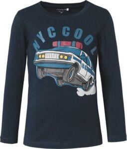 T-Shirt NMMRAXI , Organic Cotton dunkelblau Gr. 116 Jungen Kinder