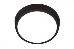 Di-Ka LED Außenleuchte schwarz, Ø 27 cm