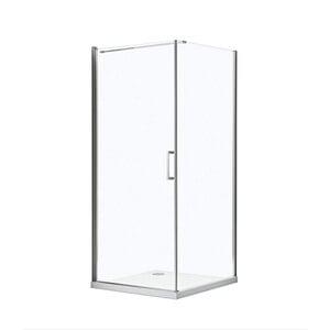 Valblue              Drehtür mit Seitenwand 90x200x90 cm
