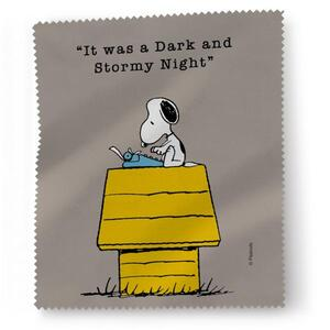 Snoopy Microfasertuch 'It Was...'