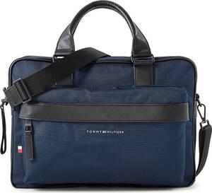 Tommy Hilfiger, Business-Bag Elevated in dunkelblau, Businesstaschen für Herren