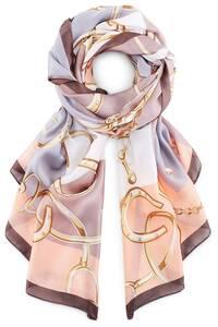 COX, Trend-Schal in hellbraun, Tücher & Schals für Damen