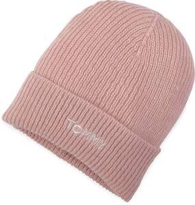 Tommy Hilfiger, Effortless Beanie in rosa, Mützen & Handschuhe für Damen
