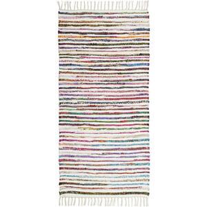 Boxxx Fleckerlteppich 80/150 cm multicolor weiß  Mirella