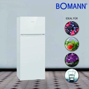 Bomann Doppeltür-Kühlschrank DT 7318.1