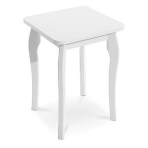 Steens Sitzhocker Weiß