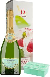 Champagner Demoiselle E.O. Sweet In Gp Mit Eisbox  - Schaumwein, Frankreich, Brut, 0,75l