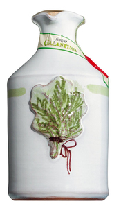 Frantoio Galantino Olio Al Rosmarino - Olivenöl Mit Rosmarin Im Tonkrug 250ml  - Öl, Italien, 0.2500 L