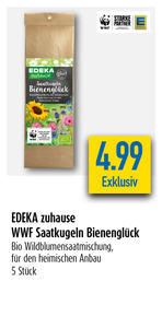 EDEKA zuhause WWF Saatkugeln Bienenglück