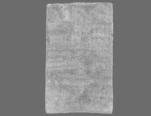 Badteppich Baumwolle grau