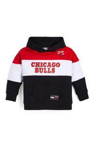 """Schwarzer """"NBA Chicago Bulls"""" Kapuzenpullover (kleine Jungen)"""