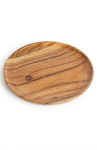Mittelgroßer Holzteller