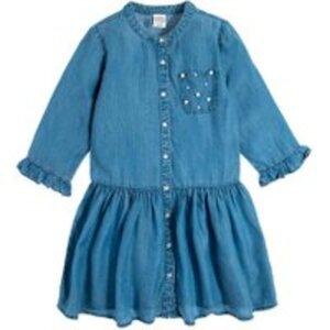 COOL CLUB Kinder Kleid Kurzer Arm für Mädchen 98