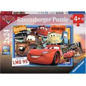Ravensburger Puzzle P Disney Cars 2x24 Teile