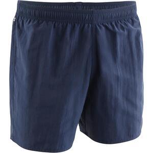 Schwimmshorts Badehose 100 Basic Herren marineblau/orange