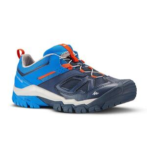 Wanderschuhe Crossrock mit Schnürung Kinder Jungen Gr. 35–38 blau