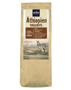 Ursprungskaffee Äthiopien Yirga von arko, 250g Bohnen
