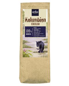 Ursprungskaffee Kolumbien Exelso von arko, 250g Bohnen