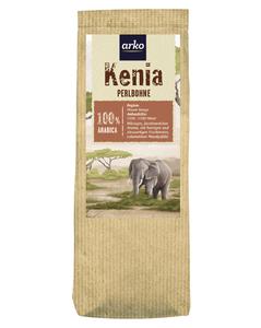 Ursprungskaffee Kenia Perlbohne von arko, 250g Bohnen