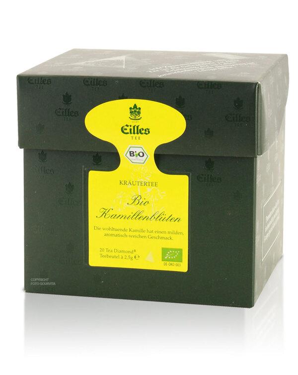 Tea Diamonds Bio Kamillenblüten von Eilles, 20er Box