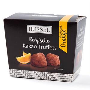 Belgische Kakao Truffets - Orange von Hussel, 250g