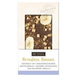 Schokolade Bernsteinbanane von Hussel, 100g