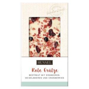 Schokolade Omas Rote Grütze von Hussel, 100g