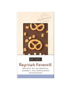 Schokolade Bayerisch Karamell von Hussel, 100g