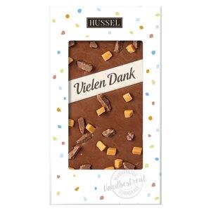 Schokolade Vielen Dank von Hussel, 100g