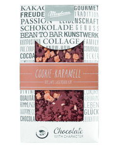 Vollmilchschokolade Cookie Caramell, 100g