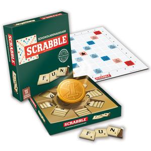 SCRABBLE - Schokoladenspiel mit feinster belgischer Schokolade, 154g