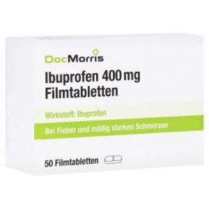 DocMorris Ibuprofen 400mg Filmtabletten 50 St