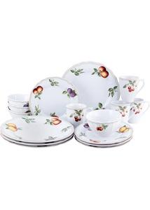 Geschirr-Set mit  Früchten (16-tlg.Set)