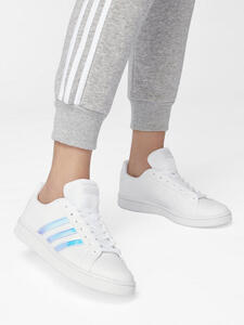 adidas Sneaker GRAND COURT BASE SHINY HOLOGRAPHIC
