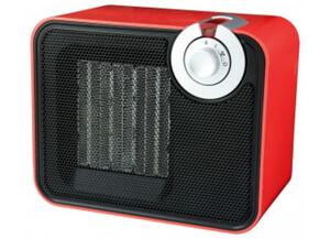 Emerio Keramikheizlüfter FH-105576 schwarz/rot
