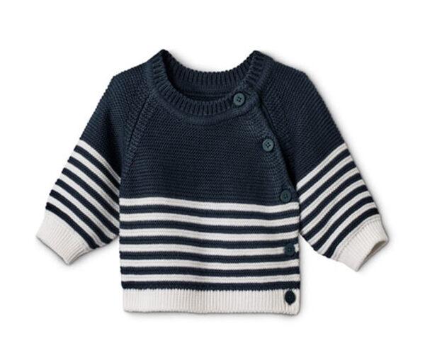Baby Baumwoll-Strickpullover