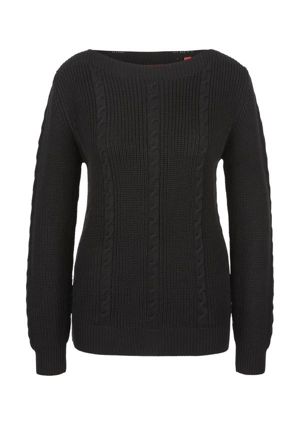 Damen Pullover aus Strukturstrick