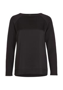 Damen Softer Pullover mit Satinfront