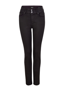 Damen Slim Fit: Jeans mit Coating